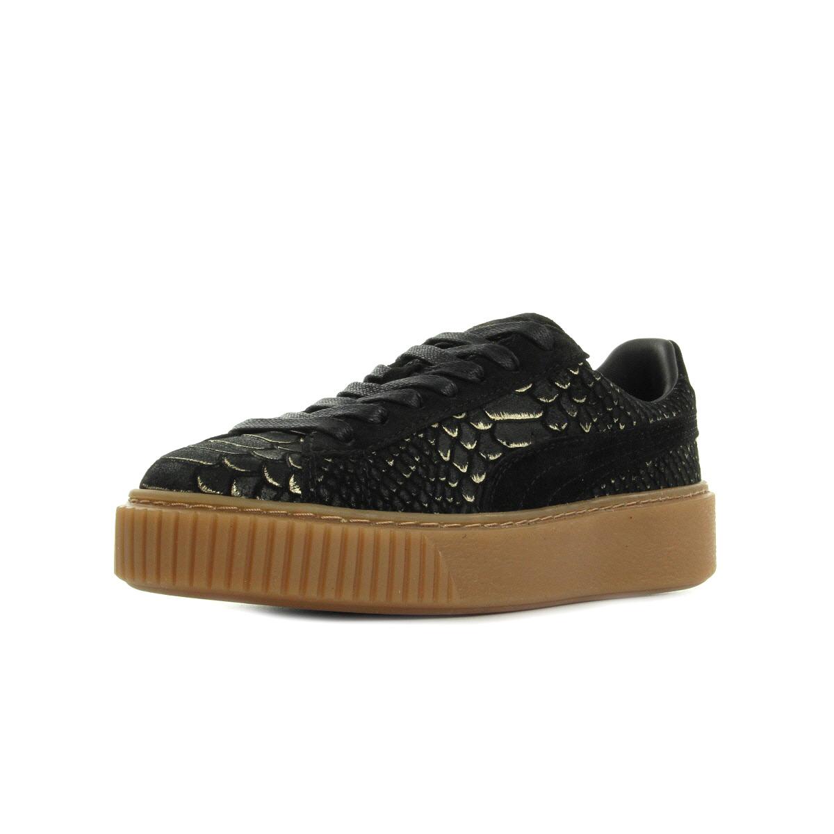 84a7df9cd6e93 Puma Basket Platform Exotic Skin 36337701