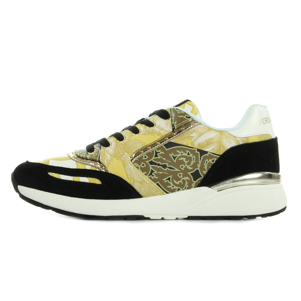 chaussures baskets versace jeans femme sneaker donna disg1coated printed taille ebay. Black Bedroom Furniture Sets. Home Design Ideas