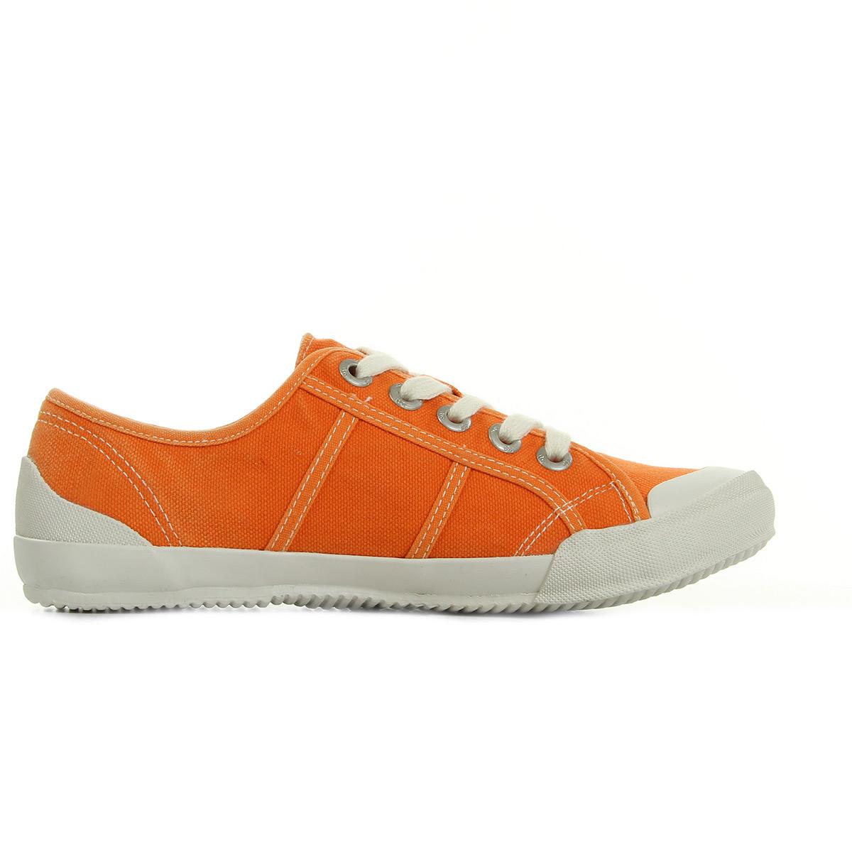 tbs Opiace Orange S7029ORANGE, Baskets mode femme
