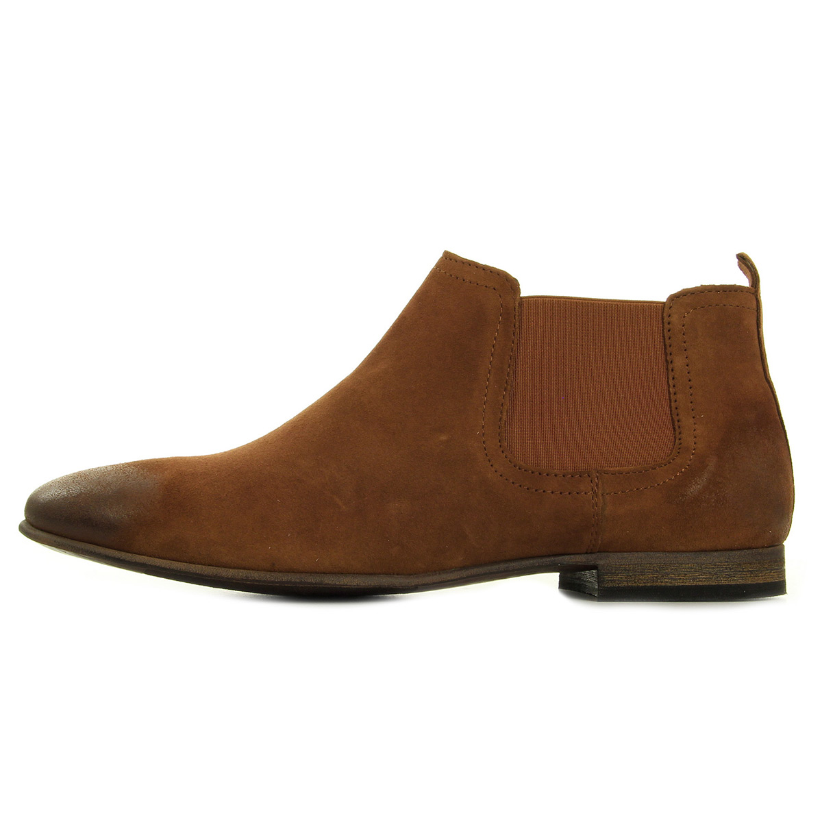 Kickers Gazette Camel 54849050114, Bottines femme