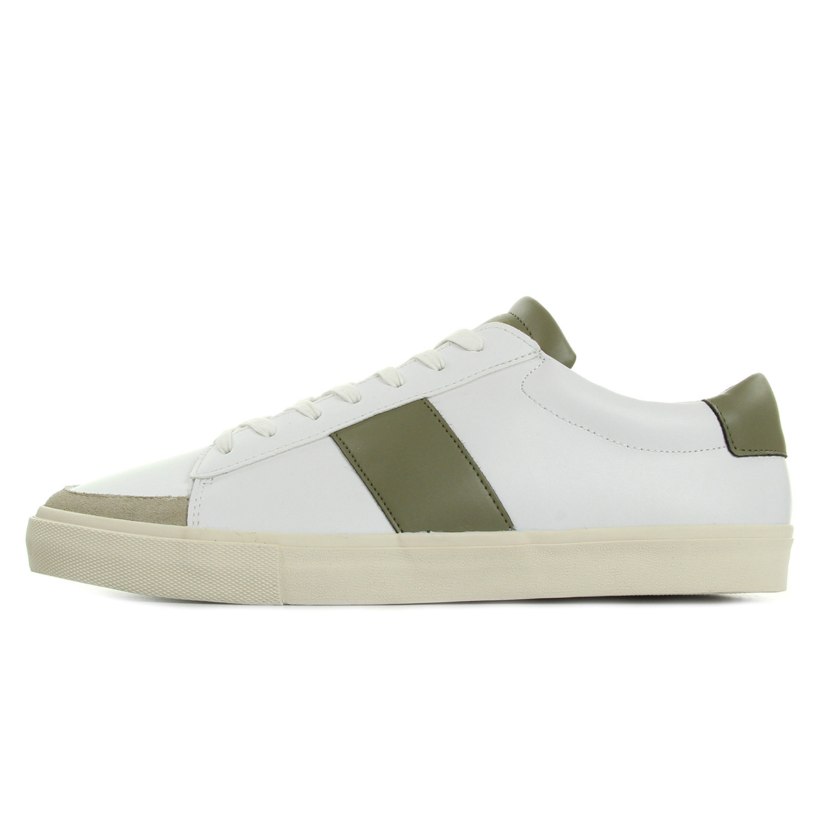 Jim Rickey Gusten Leather/Suede Green JRS17091B, Baskets mode homme