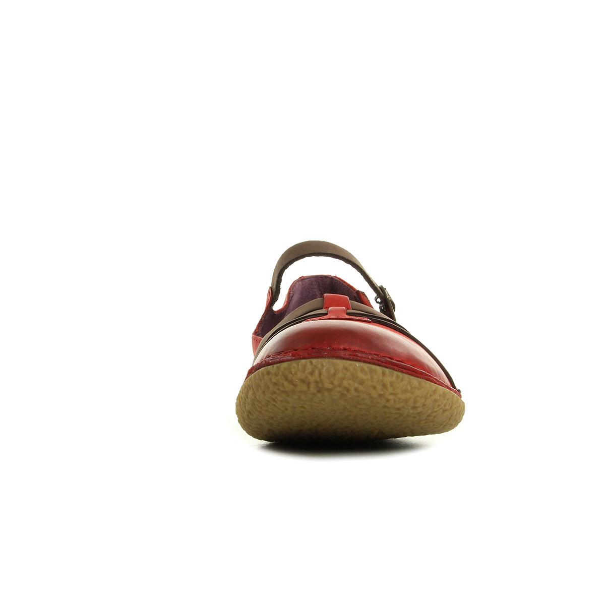 Kickers Hibou Rouge Marron 4702515043, Ville femme