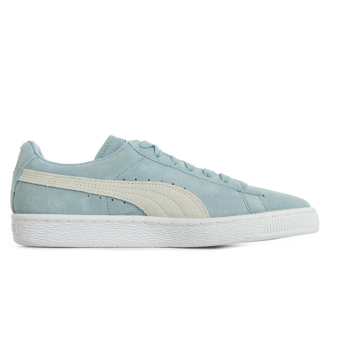 Puma Suede Classic + Blue Fog White 36324206, Baskets mode femme