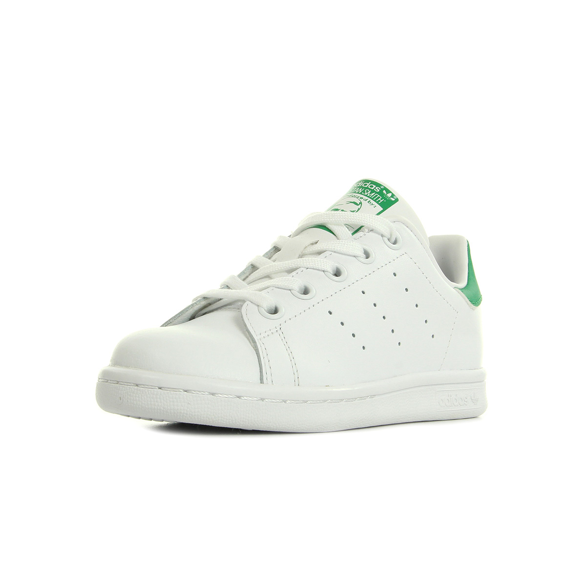 6e7cdbb2e34 Chaussures Baskets adidas unisexe Stan Smith taille Blanc Blanche Cuir  Lacets