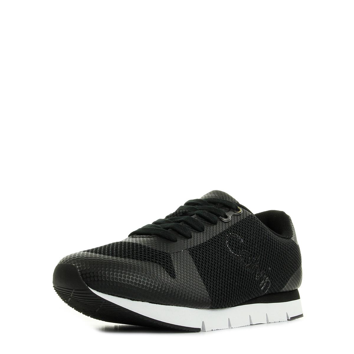 Calvin Klein Jacques Mesh/ Inf Black S1673BLACK, Baskets mode homme