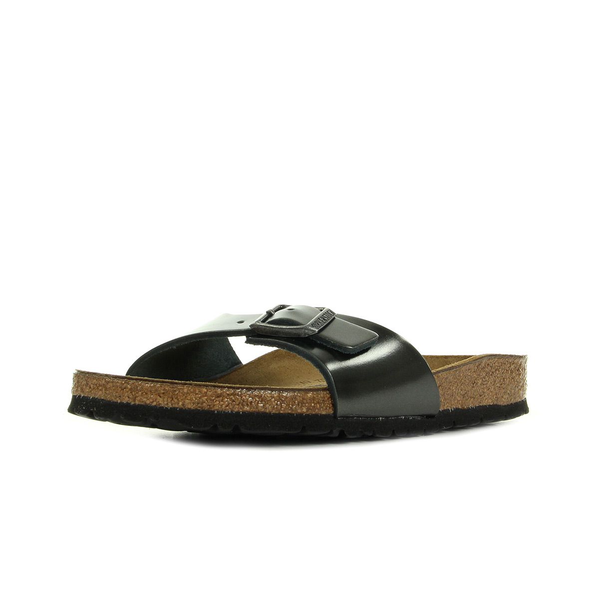 Sandales Nu Pieds Birkenstock homme Madrid taille Marron Synthtique A boucles