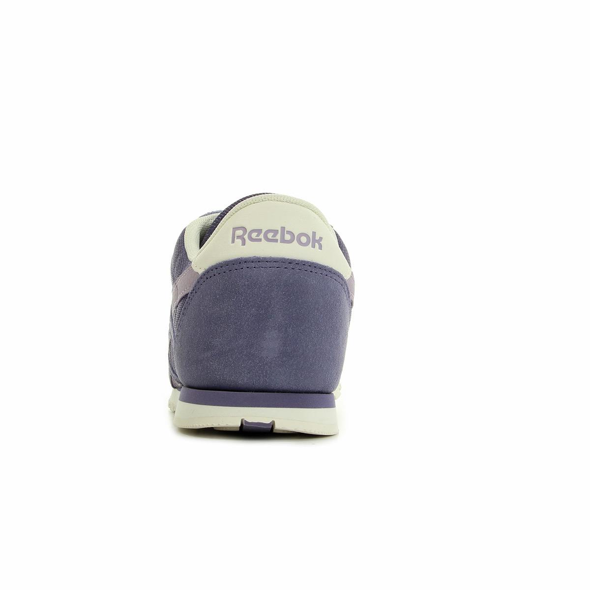 4e1d39b529921 Chaussures Baskets Reebok femme CL Nylon Slim Colors taille Violet ...