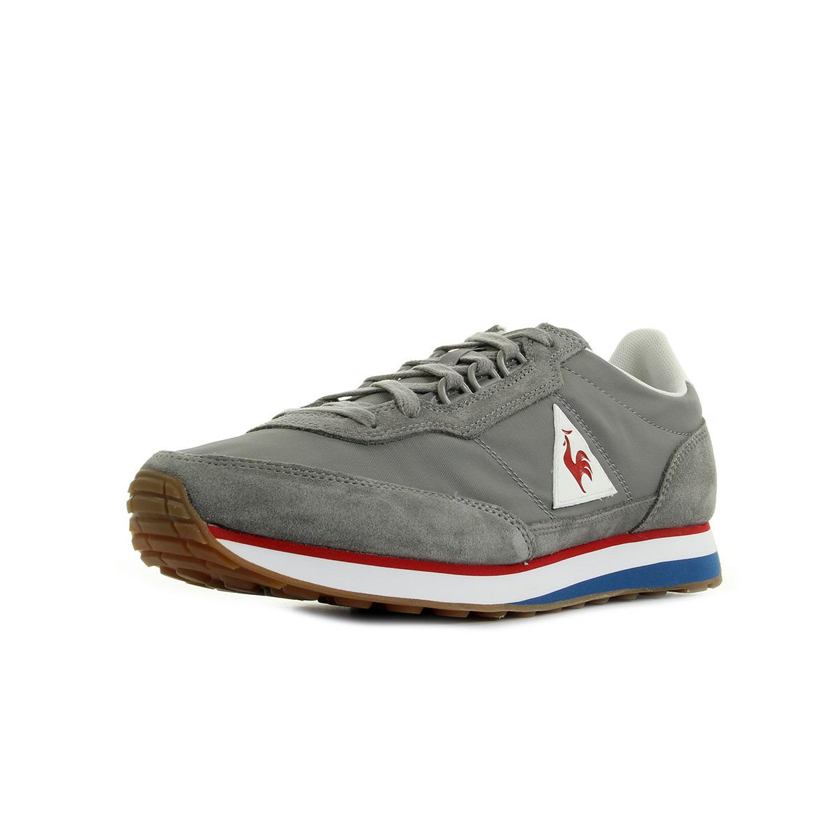 Chaussures De Sport Pour Les Hommes, Bleu Robe, Cuir Suédé, 2017, 41 42 43 44 45 Le Coq Sportif