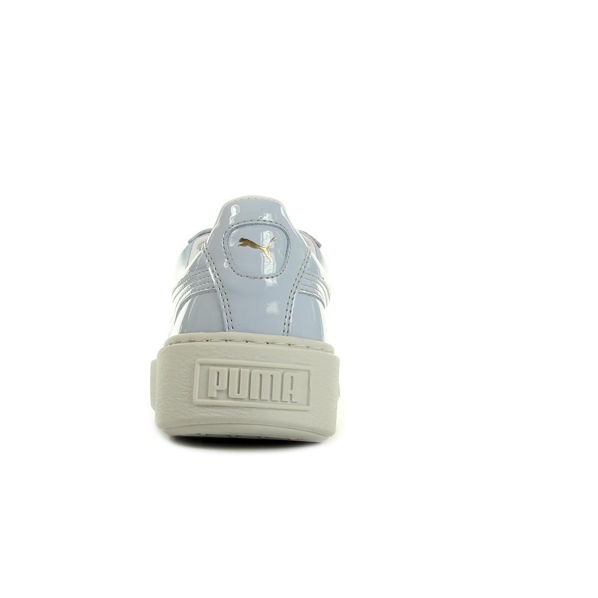 Puma Basket Platform Patent Wns 36331401, Baskets mode femme