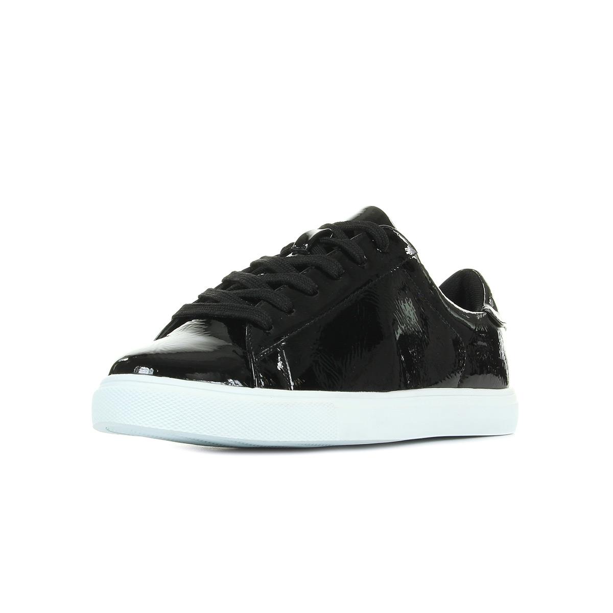 Vanessa Wu BK1518 Noir noir - Chaussures Baskets basses Femme
