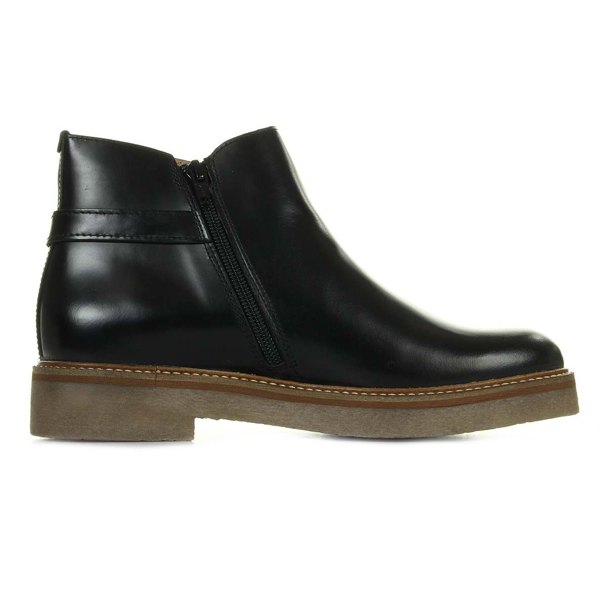 Boots Kickers Oximore Cuir Polido Noir 2dozbqw6