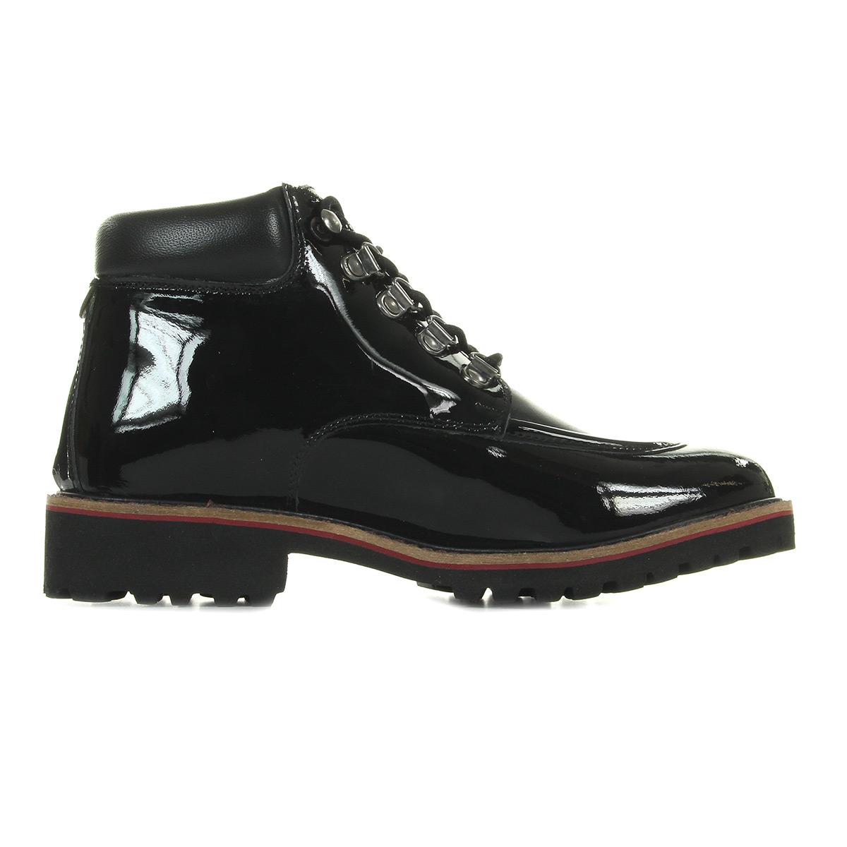 Kickers Reno Cuir Noir 578720508, Boots femme