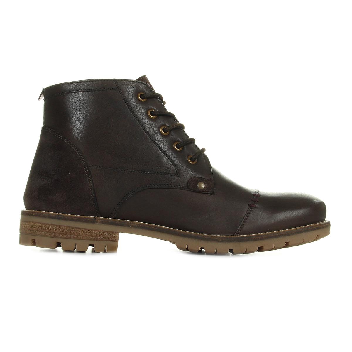 Kickers Fanfarno Cuir Marron 589880609, Boots homme