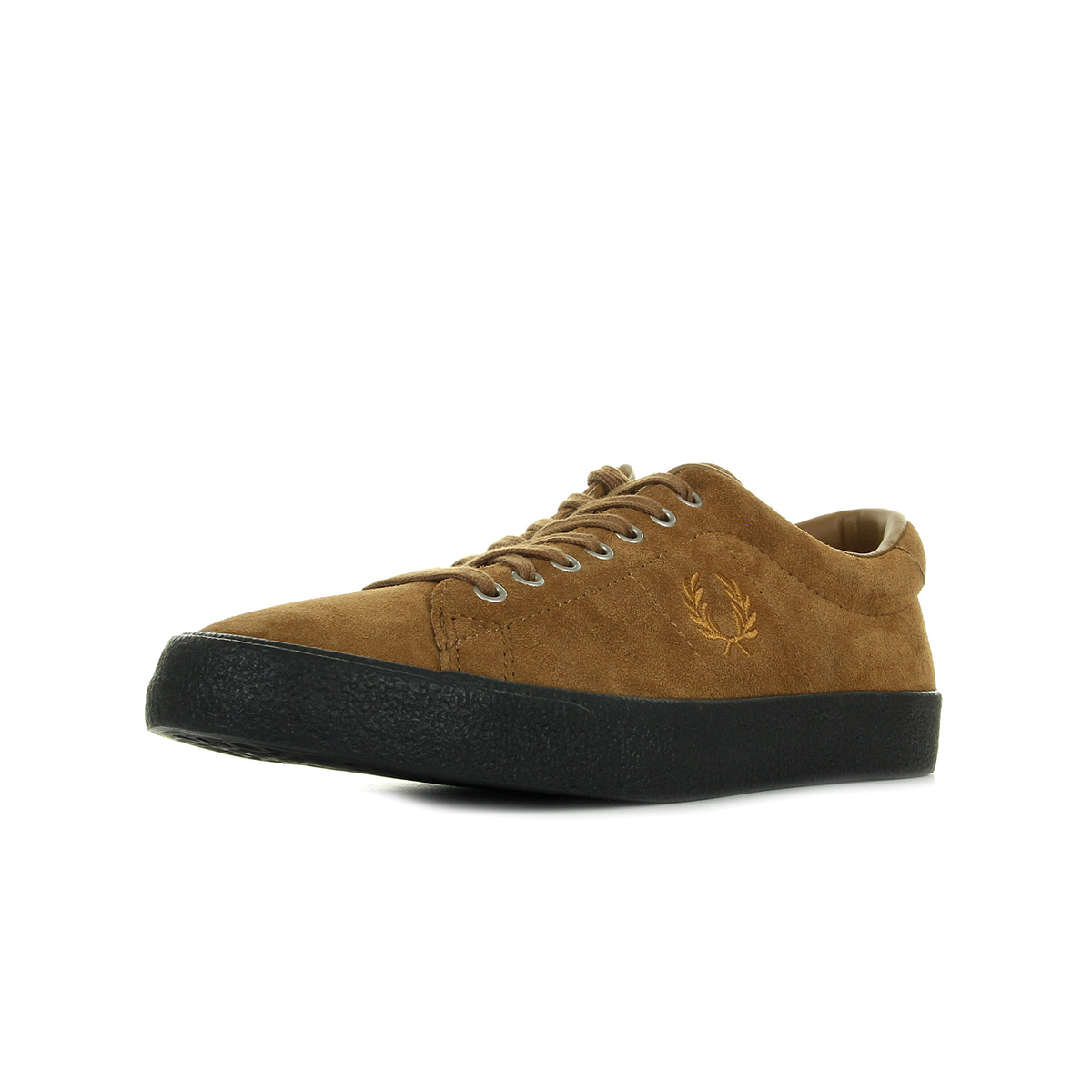 Marques Chaussure homme Fred Perry homme UNDERSPIN SUEDE Ginger