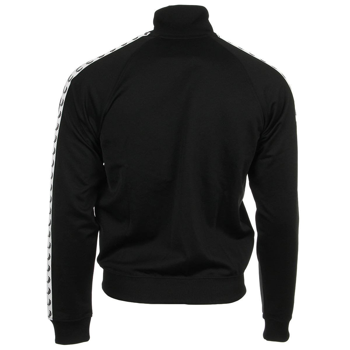 Fred Perry Taped Track Jacket Black J6231102, Vestes sport homme