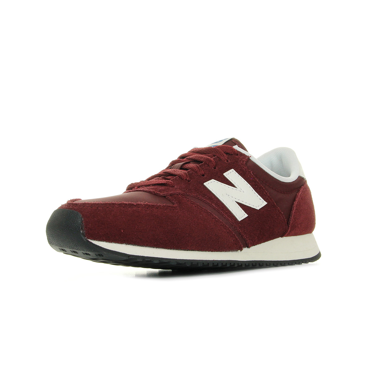 Chaussures Baskets New Balance unisexe U420 RDW taille Bordeaux Cuir Lacets