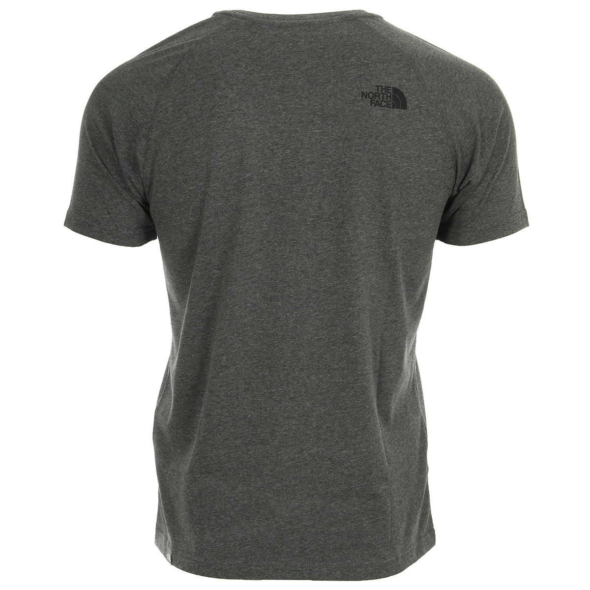 The North Face M SS Raglan Red Box Tee Grey T92ZWZJBV, T-Shirts homme