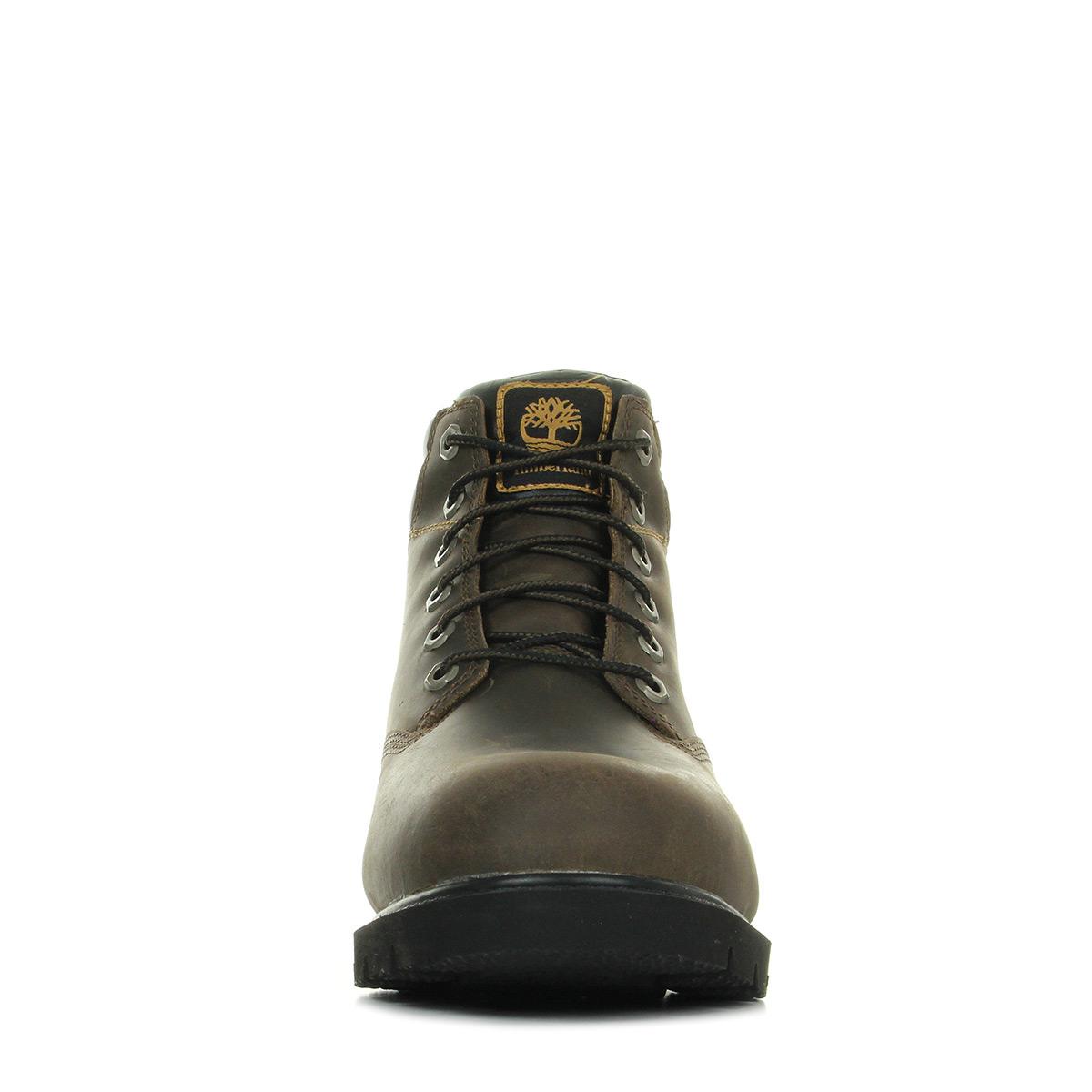 Timberland Leavitt Waterproof Lace Boot Dark Brown CA1K94, Boots homme f90985bde87c