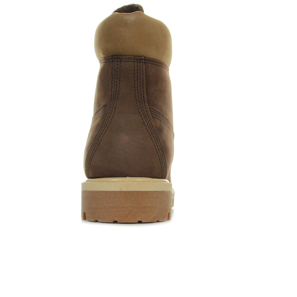 Timberland 6IN Premium Bt Dark brown CA1LY6, Boots homme