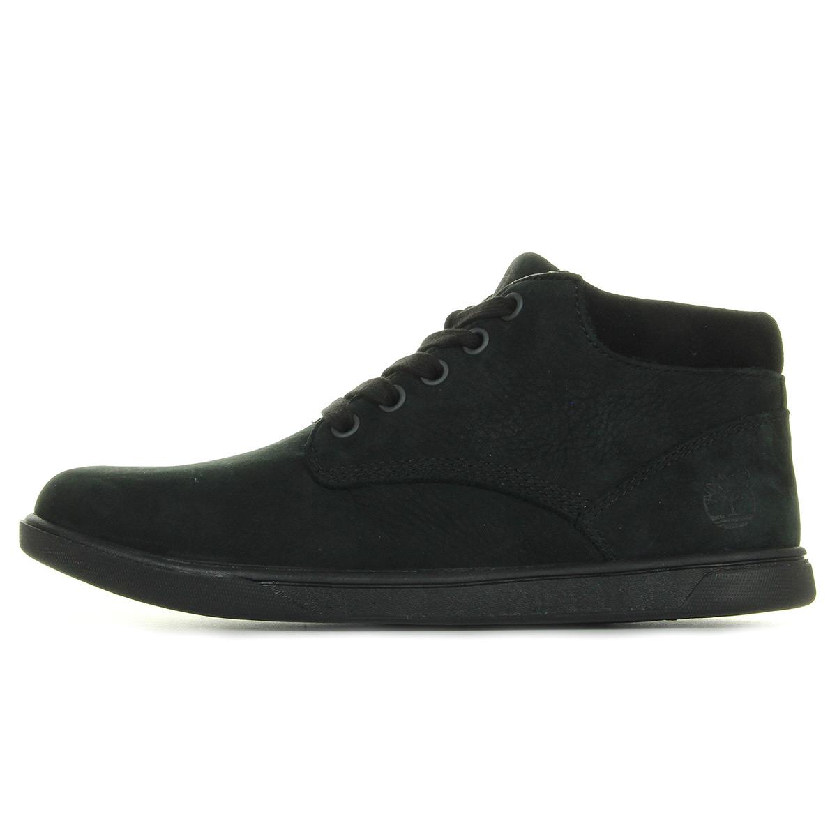 Bottes Timberland Groveton Leather Chukka Black l08VJ5Y