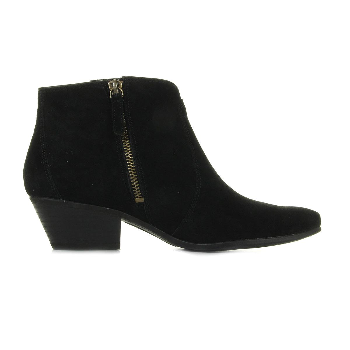 Timberland Tassle Boot Black Suede CA1K6Z, Bottines femme
