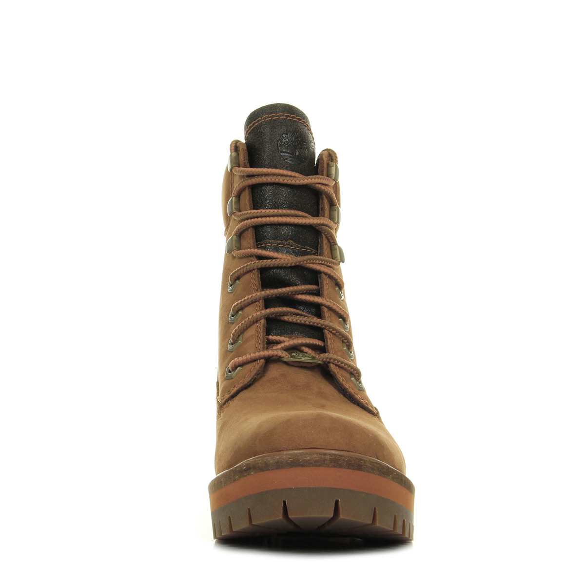 bacdb40c720 ... Timberland Lace Up Boot Rust Nubuck ...