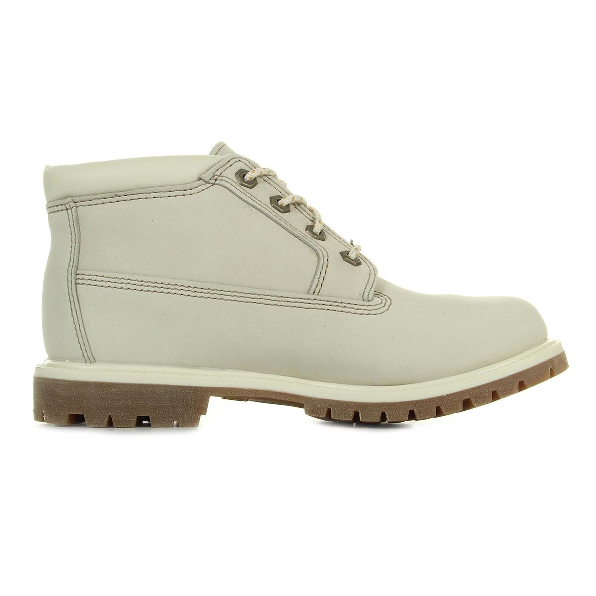 Timberland Boots Chukka Double Waterproof Boost Winter White Nubuck Combien En Ligne ABPX03