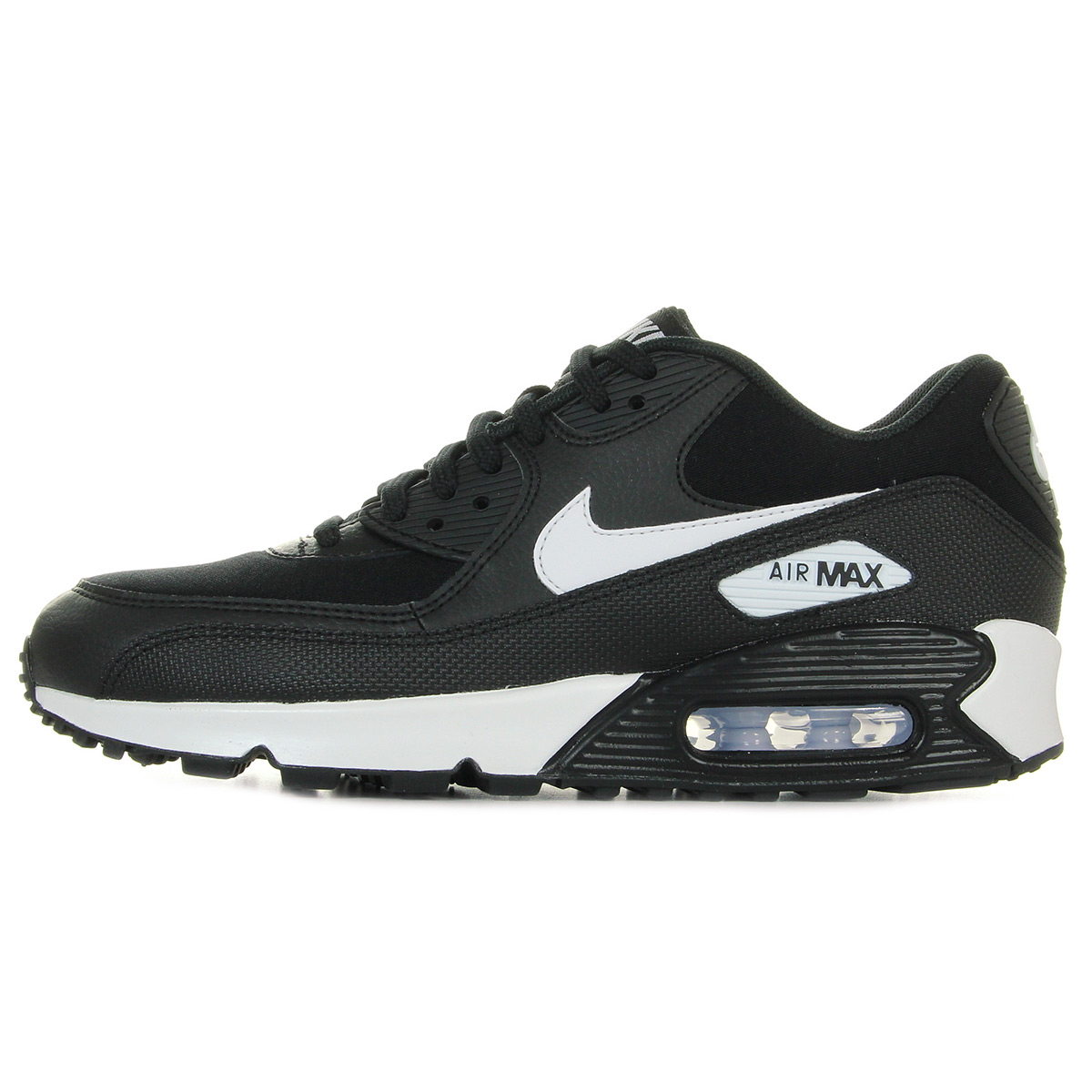 "Nike WMNS Air Max 90 ""Black & White"" 325213047, Baskets mode femme"