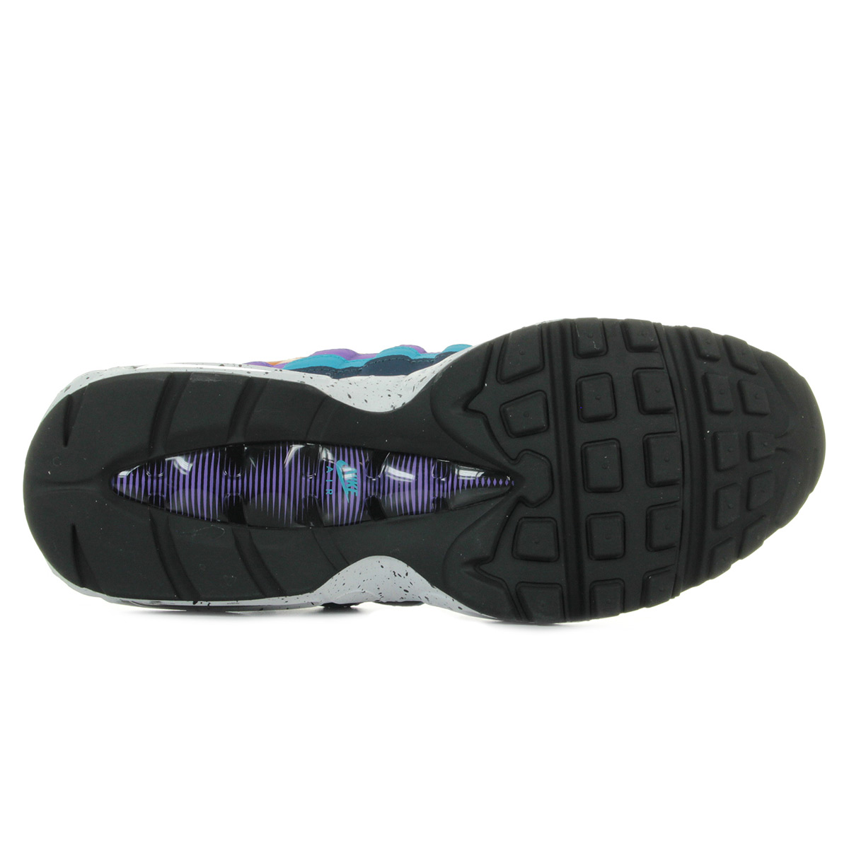 Nike Air max 95 premium 538416800, Baskets mode homme