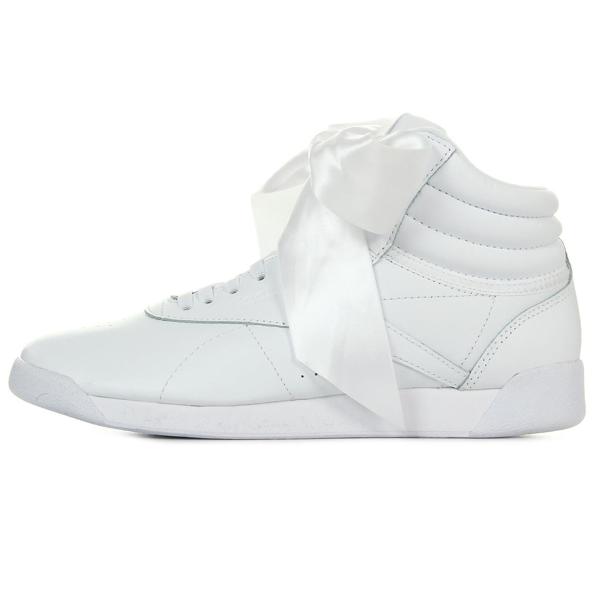 Reebok F/S Hi Satin Bow CM8903, Baskets mode femme