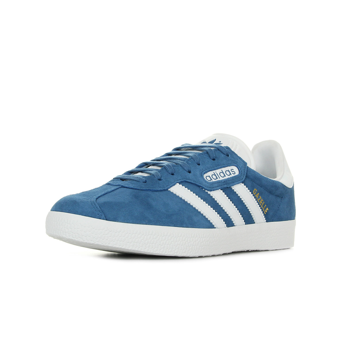 Chaussures Baskets adidas unisexe Gazelle Super Essential taille Bleu Bleue Cuir