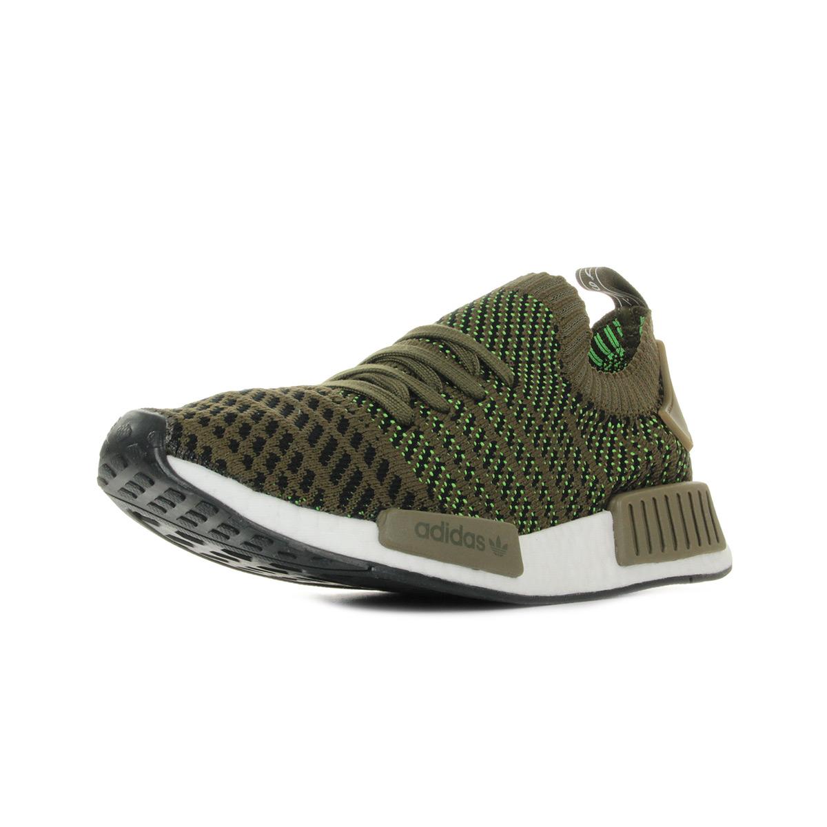 Détails sur Chaussures Baskets adidas homme Nmd R1 Stlt Pk taille Marron Textile Lacets