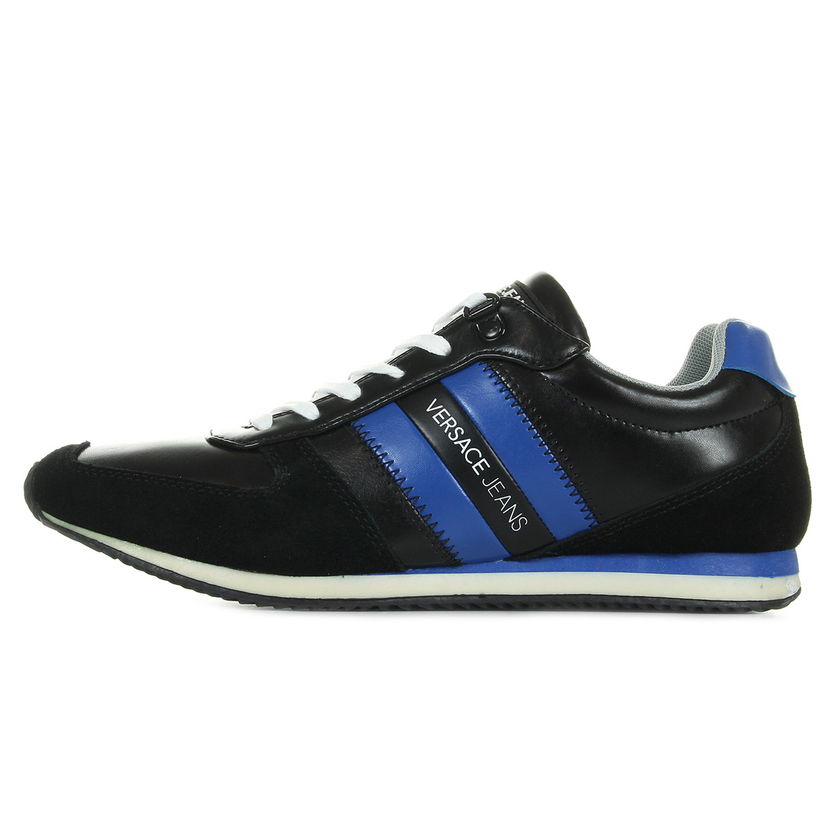 Versace Jeans Sneaker Uomo DisA3 Coated/ Suede E0YPBSA3M57, Baskets mode homme