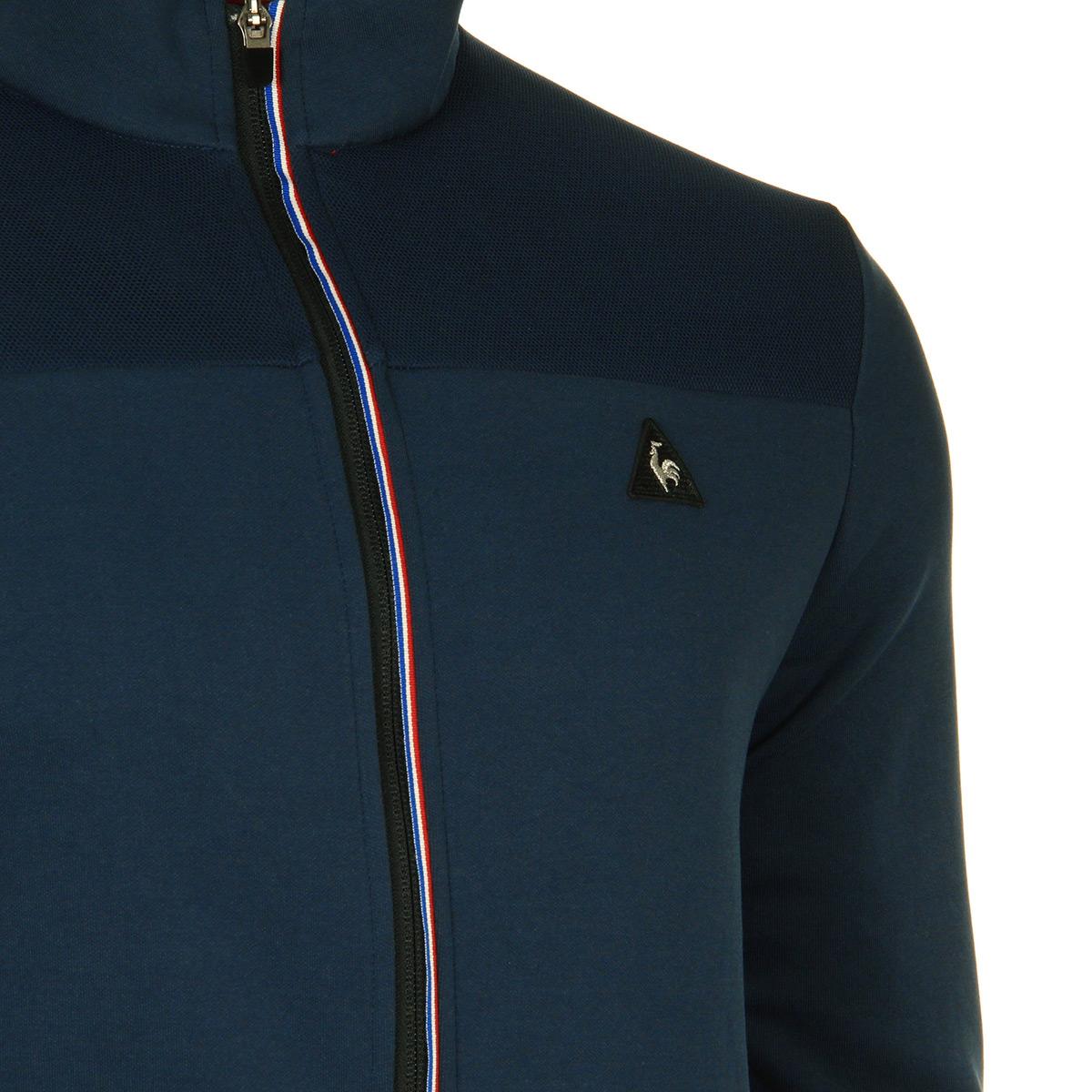 Vêtement Vestes Le Coq Sportif homme Sta Sp CotonTech Fz Sweat N°1 M ... 2141d272d8f