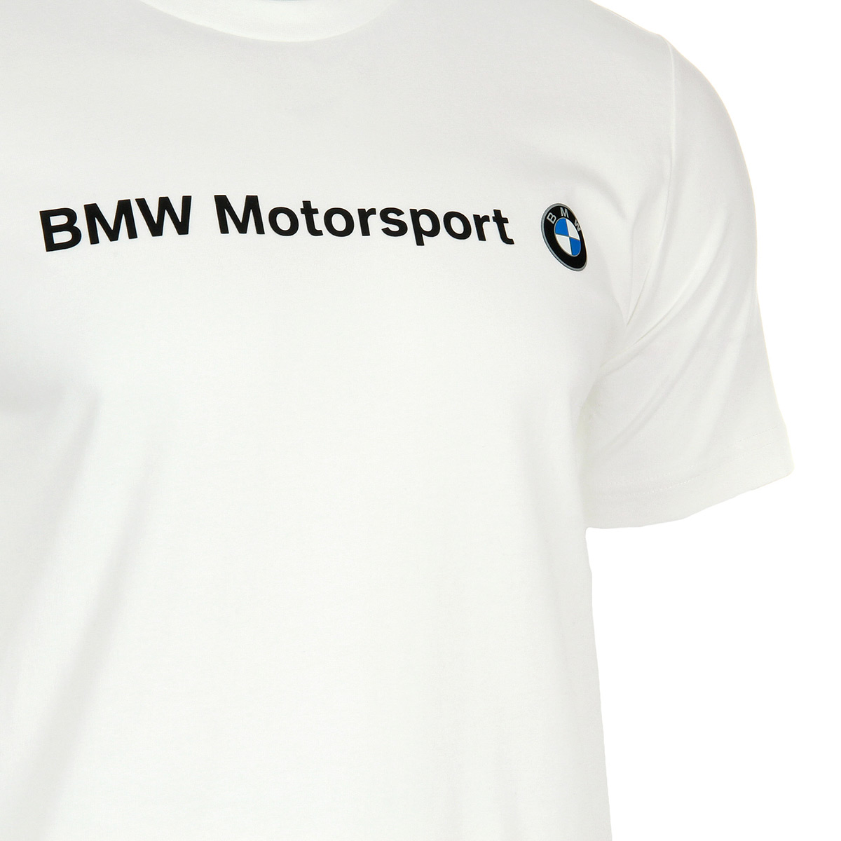 Puma BMW MSP Logo Tee White 57277202, T-Shirts homme