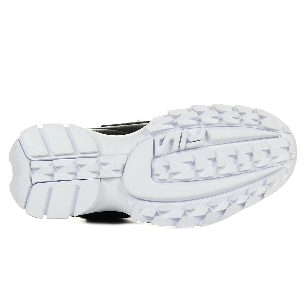 Fila Disruptor Mid Wmn Black 101015525Y, Baskets mode femme