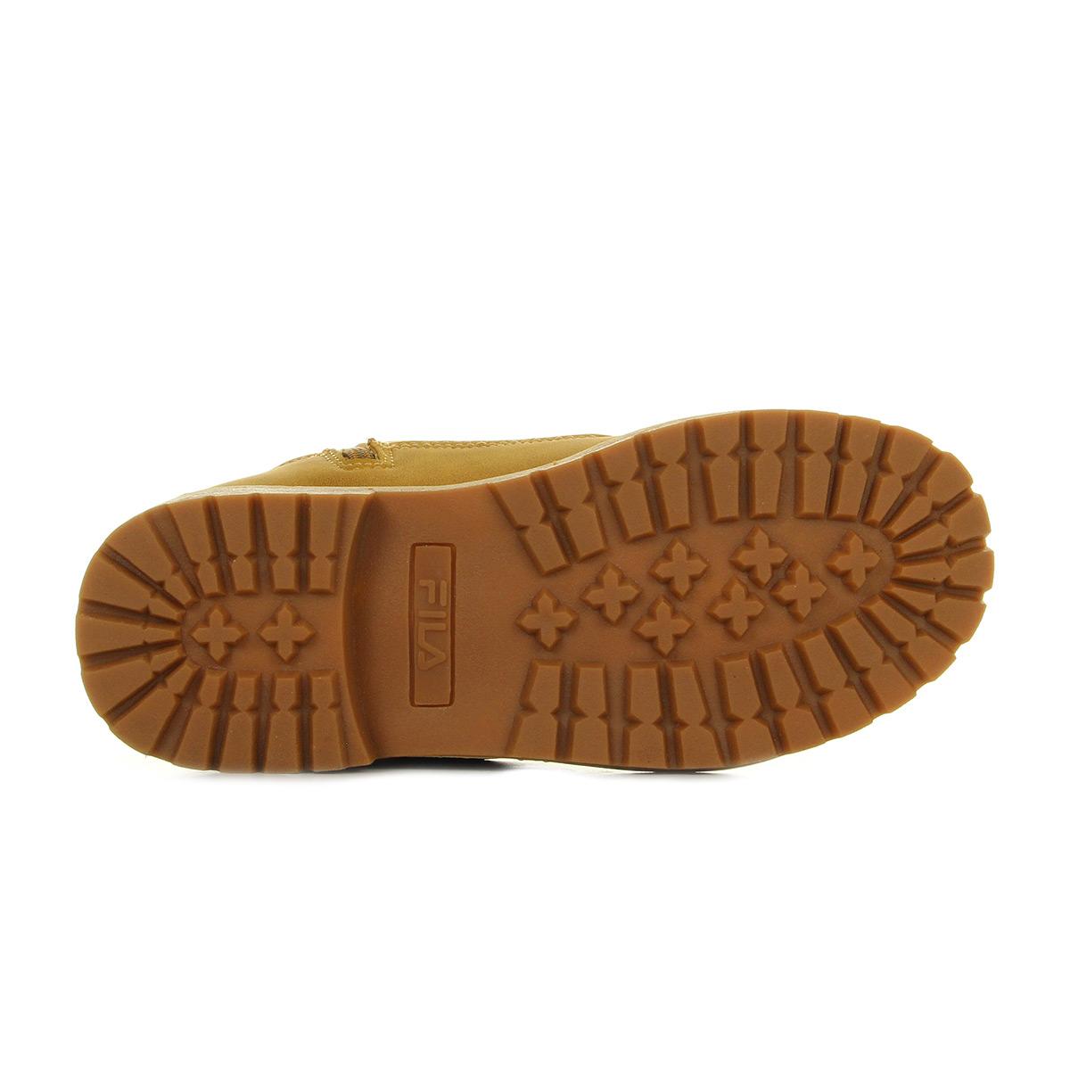 Chipmunk Maverick Boots Chaussures Jr Mid Fila Marron Garçon