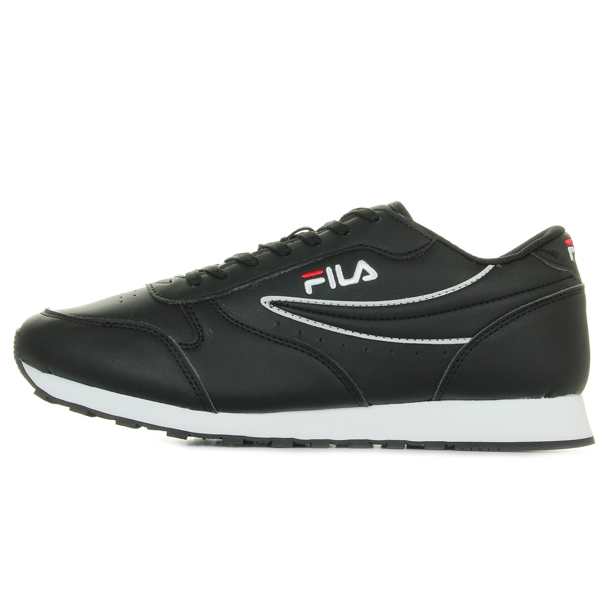 Fila Orbit Low Black 101012325Y, Baskets mode homme