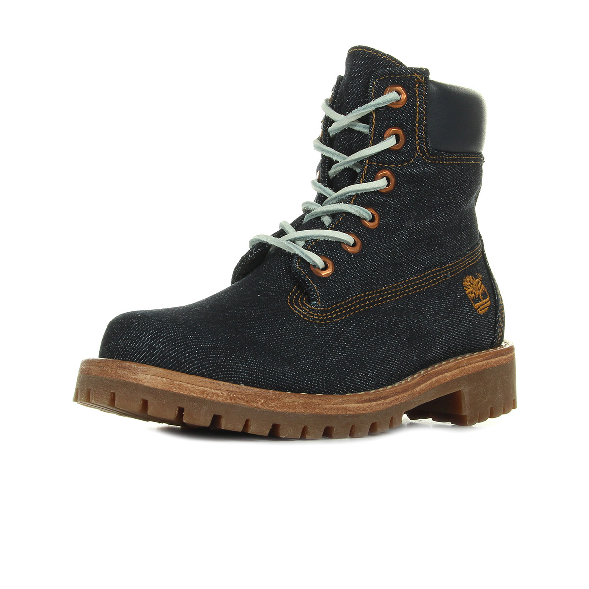 Timberland Boots Ltd Fabric 6in Dk Denim