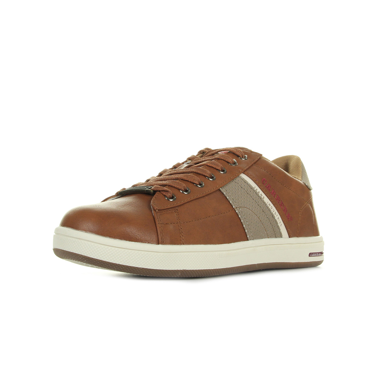 a357b1c3023 Chaussures Baskets Carrera Jeans homme Play Lth Cudio taille Marron ...