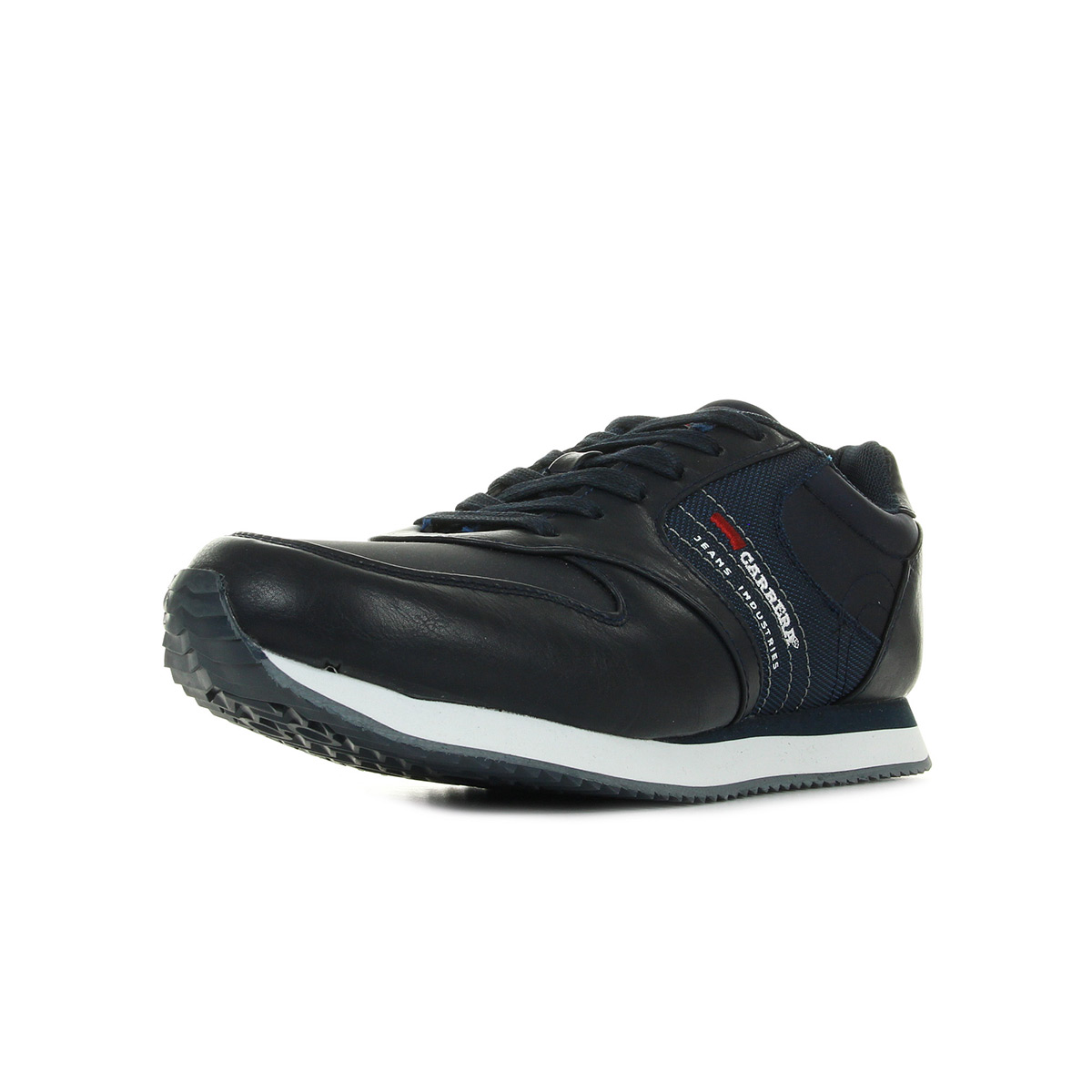 Chaussures Baskets Carrera Jeans homme Candidate Tex Dk Blue taille Bleu marine