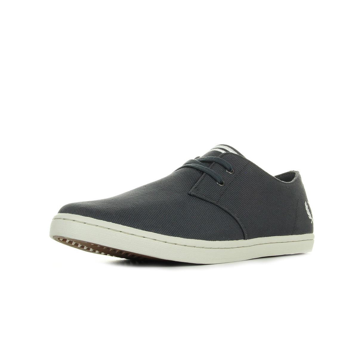 Baskets Fred Perry Byron Low Twill Charcoal gaKDRvp6ZT