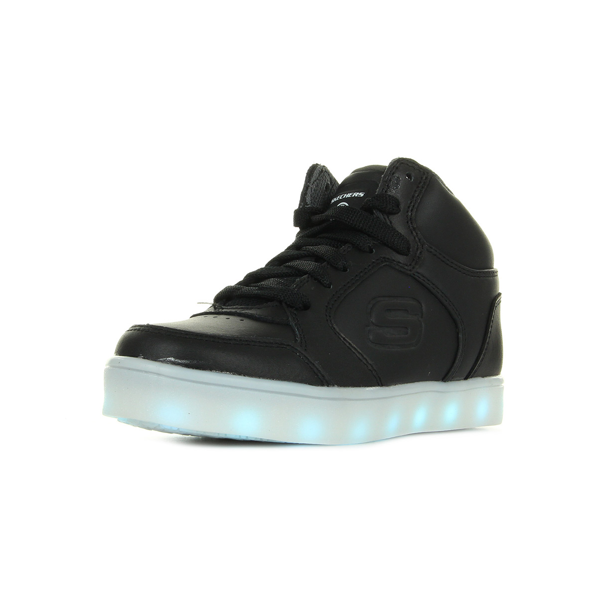 Energy Skechers Lights 90600lblk Mode Baskets dXRxROqw