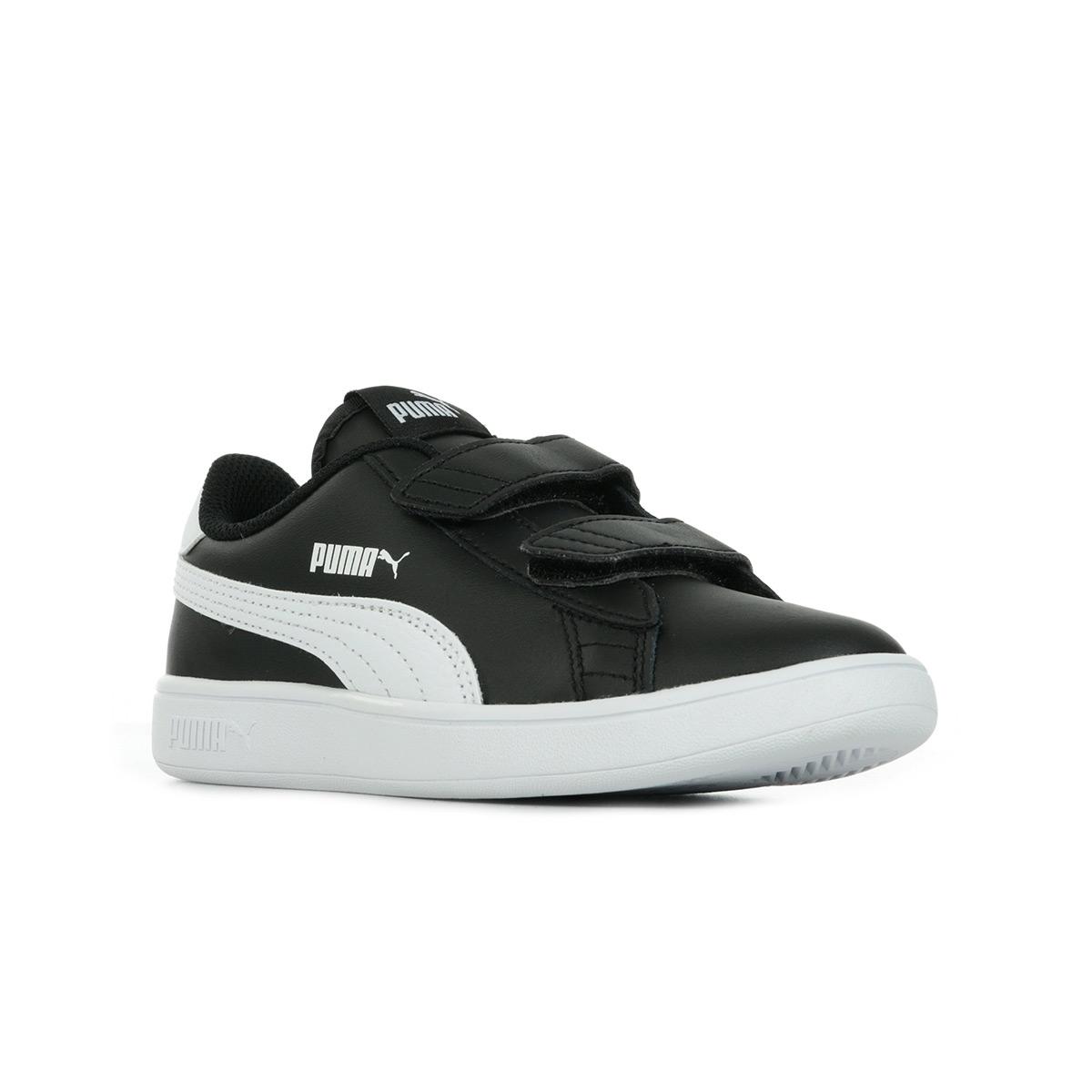 Puma Smash V2 L Jr Ps Black ...