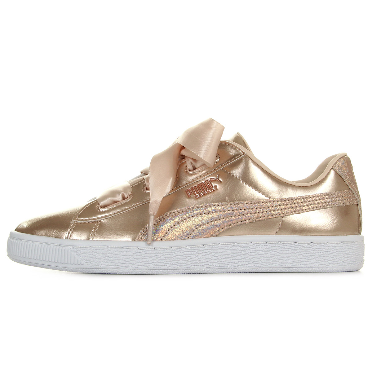 Puma Basket Heart Lunar Lux Jr 36599302, Baskets mode femme