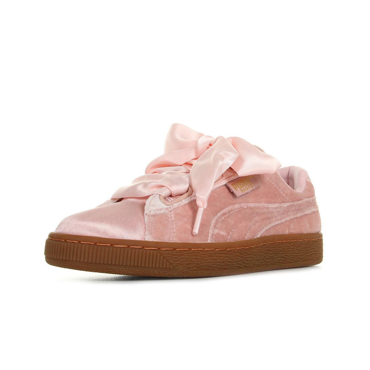 puma chaussures femmes rose velours