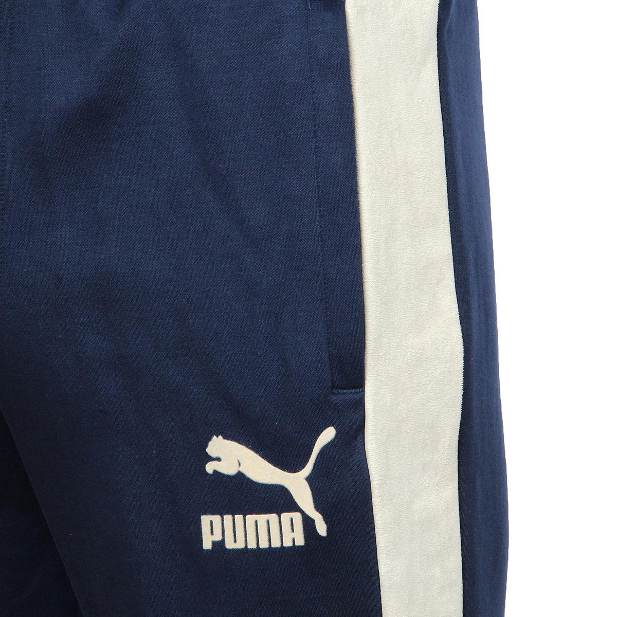 Puma T7 Pants inserts Suede 57570306, Pantalons homme