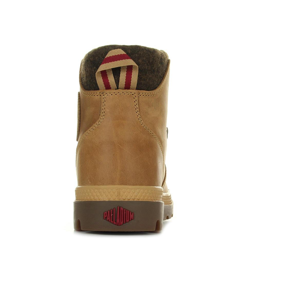 Palladium Pallabrouse Hiker Amber Gold 74421259, Boots homme