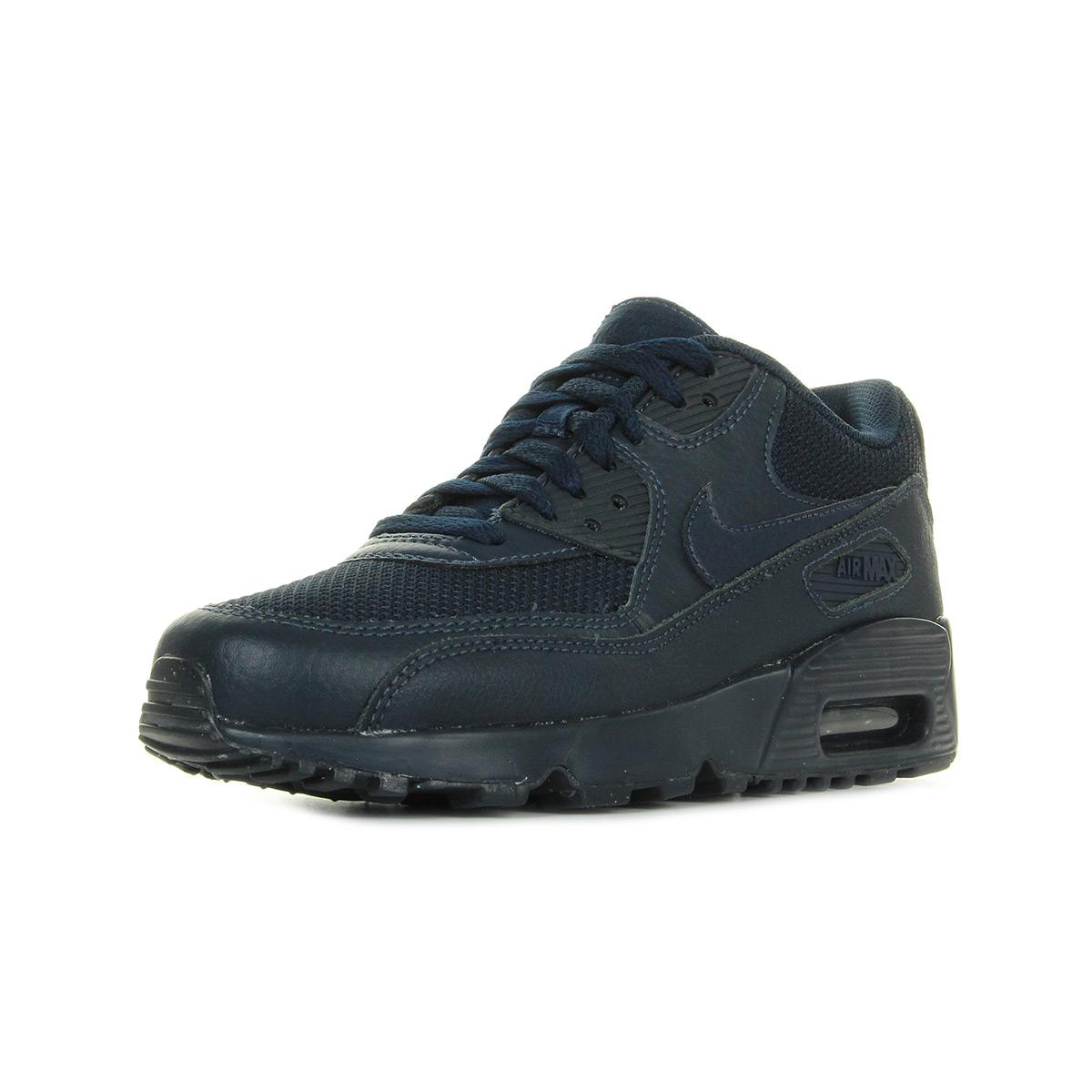 Chaussures Max Baskets Nike Femme Air Max Chaussures 90 Mesh Taille Bleu Marine 477d4e