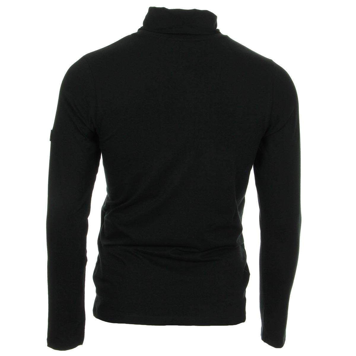 Fila Roll Neck Black 684207002, T-Shirts